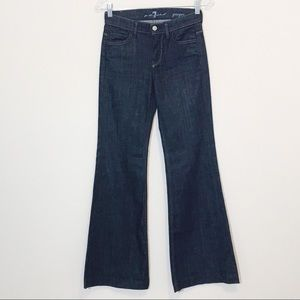 7 For All Mankind Ginger Flare Trouser Jeans New